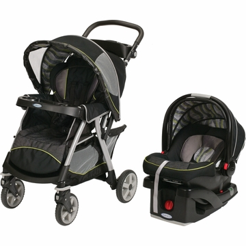 Graco UrbanLite Click Connect Travel System - Omni