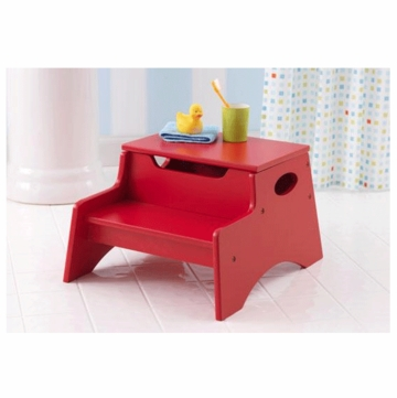 KidKraft Step 'N Store in Red