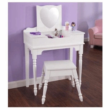 KidKraft Sweetheart Vanity and Stool Set