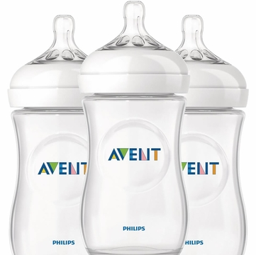 Avent Natural 9 oz 3 pk Bottle (PP)