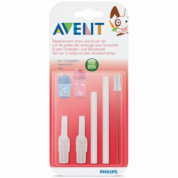 Avent Straw Replacement Brush Set for 9-oz.Cup