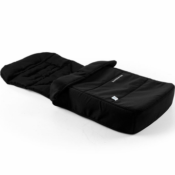 Bumbleride Footmuff & Liner in Jet Black