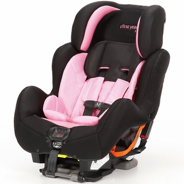 The First Years C680 True Fit SI Convertible Car Seat - Pop of Pink