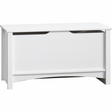 Child Craft Shoal Creek Storage Chest in Matte White
