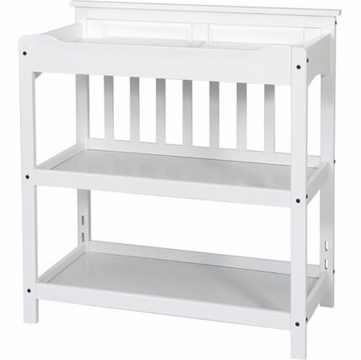 Child Craft Upscale Changing Table in Matte White