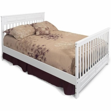 Child Craft Bed Rails for Matte White