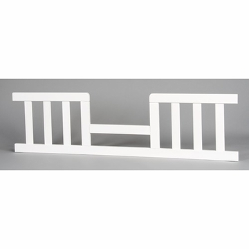 Child Craft Toddler Guard Rail for Convertible Crib in Matte White