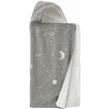 DwellStudio Galaxy Dusk Hooded Towel
