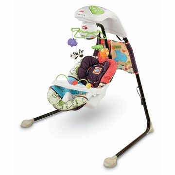 Fisher-Price Luv U Zoo Cradle 'n Swing