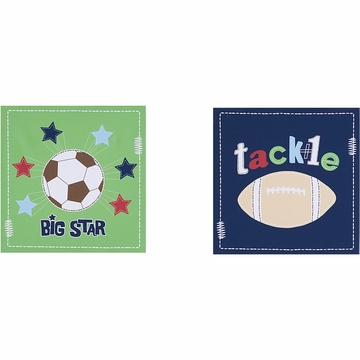 KidsLine All Sports Canvas Wall Art - Set of 2