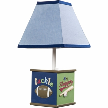 KidsLine All Sports Lamp Base and Shade