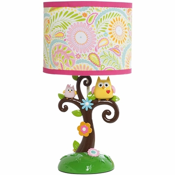 KidsLine Dena Happi Tree Lamp Base & Shade