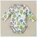 DwellStudio Owls Sky Long Sleeve Bodysuit 0-3 Mo.