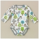 DwellStudio Owls Sky Long Sleeve Bodysuit 3-6 Mo.
