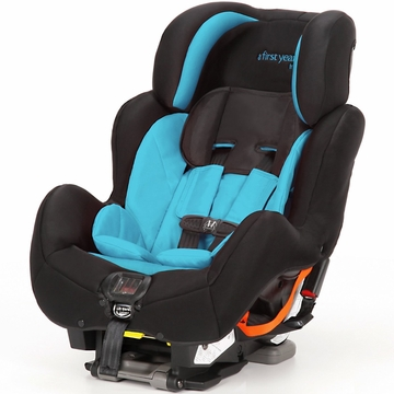 The First Years C680 True Fit SI Convertible Car Seat - Pop of Teal