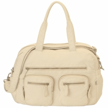 OiOi Almond Buffalo Carry All Diaper Bag