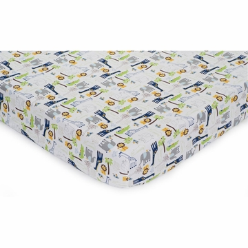 KidsLine Tribal Tails Fitted Sheet