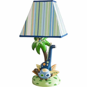 KidsLine Tribal Tails Lamp Base and Shade