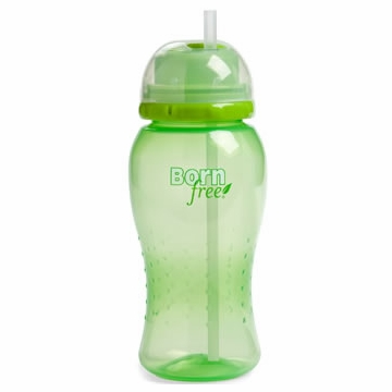 Born Free 14 Oz. Straw Cup - Green