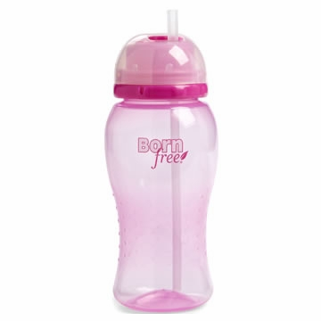 Born Free 14 Oz. Straw Cup - Pink
