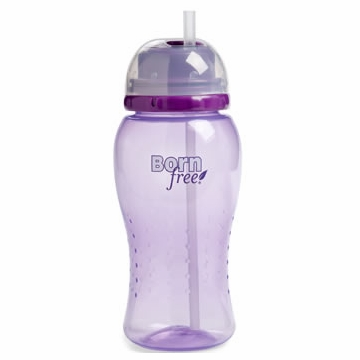 Born Free 14 Oz. Straw Cup - Purple