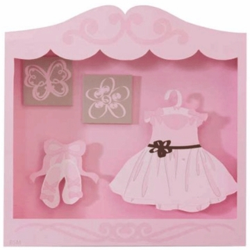 Lambs & Ivy Angelina Shadow Box Princess