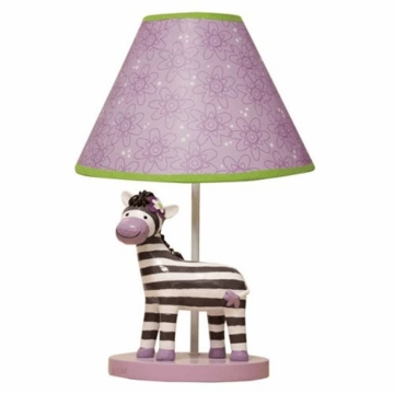 Lambs & Ivy Garden Safari Lamp with Base & Shade