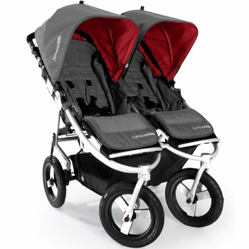 Bumbleride 2013 Indie Twin Stroller in Fog Grey