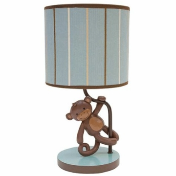Lambs & Ivy Giggles Lamp with Shade & Bulb