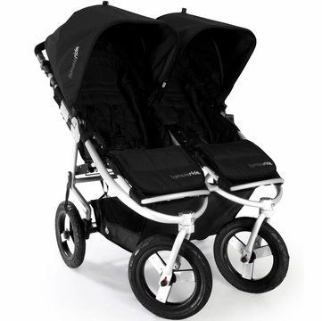 Bumbleride Indie Twin Stroller in Jet Black