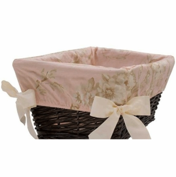 Lambs & Ivy Little Princess Basket Liner