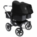 Bugaboo Donkey Twin Stroller in Black/Black