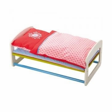 HABA Doll Bed - Flower Burst