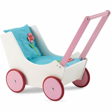 HABA Doll Pram - Flowers