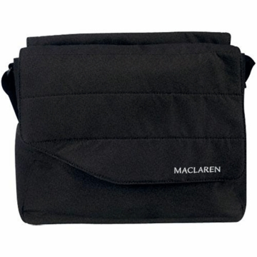 Maclaren Messenger Bag in Black