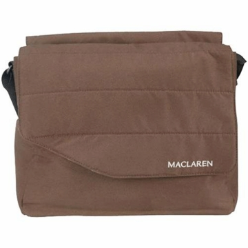 Maclaren Messenger Bag in Coffee Brown