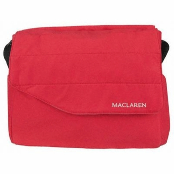 Maclaren Messenger Bag in Scarlet