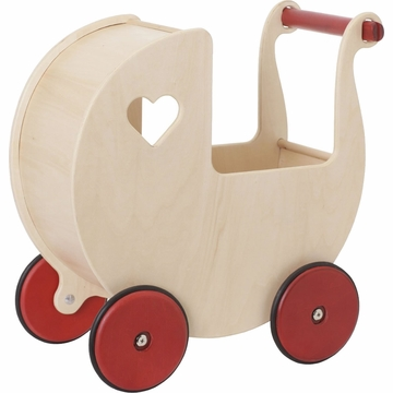 HABA Moover Doll Pram - Natural