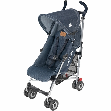 Maclaren Quest Sport Stroller - Denim Limited Edition