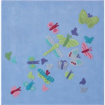 HABA Summer Butterfly Rug