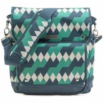 Timi & Leslie 2-in-1 Backpack Diaper Bag in Emerald Lagoon