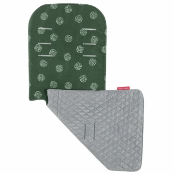 Maclaren Reversible Seat Liner in Starburt Racing Green/Silver