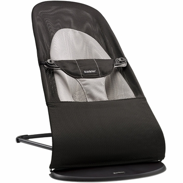 BabyBjorn Bouncer Balance Soft, Mesh - Black/Grey