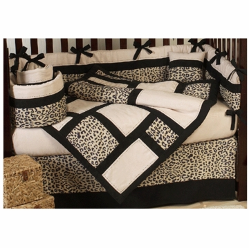 Sweet JoJo Designs Animal Safari 9 Piece Crib Bedding Set