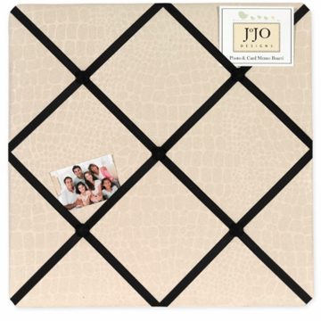 Sweet JoJo Designs Animal Safari Fabric Memo Board