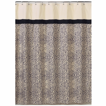 Sweet JoJo Designs Animal Safari Shower Curtain