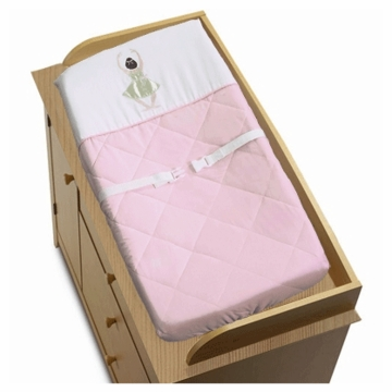 Sweet JoJo Designs Ballerina Changing Pad Cover