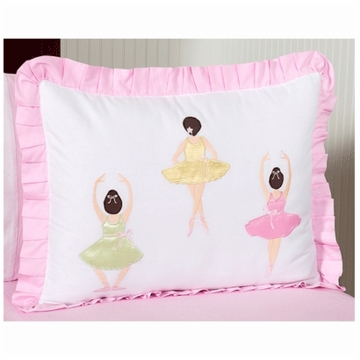 Sweet JoJo Designs Ballerina Pillow Sham