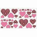 Sweet JoJo Designs Bella Pink Wall Decals
