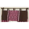 Sweet JoJo Designs Bella Pink Window Valance